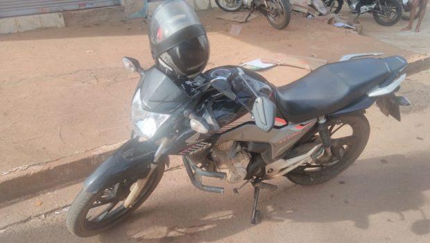 Acidente na Vila Mutirão deixa motociclista ferido