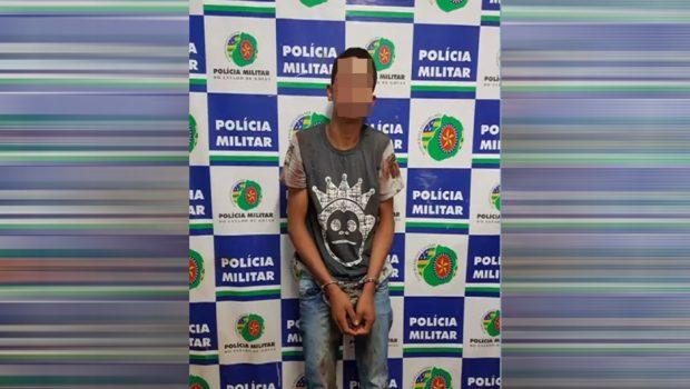Homem é preso após invadir residência e estuprar mulher, em Aparecida de Goiânia
