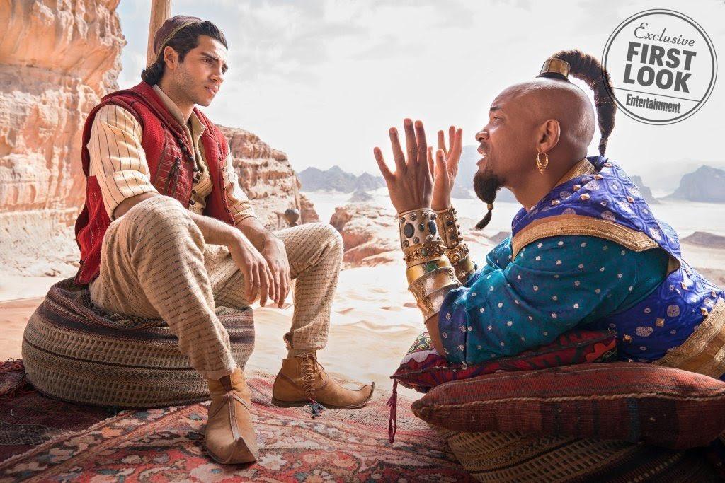 Cena do filme Aladdin