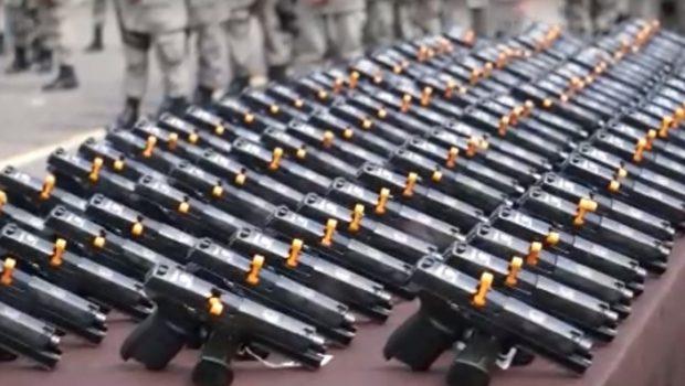 PM goiana recebe 700 novas armas