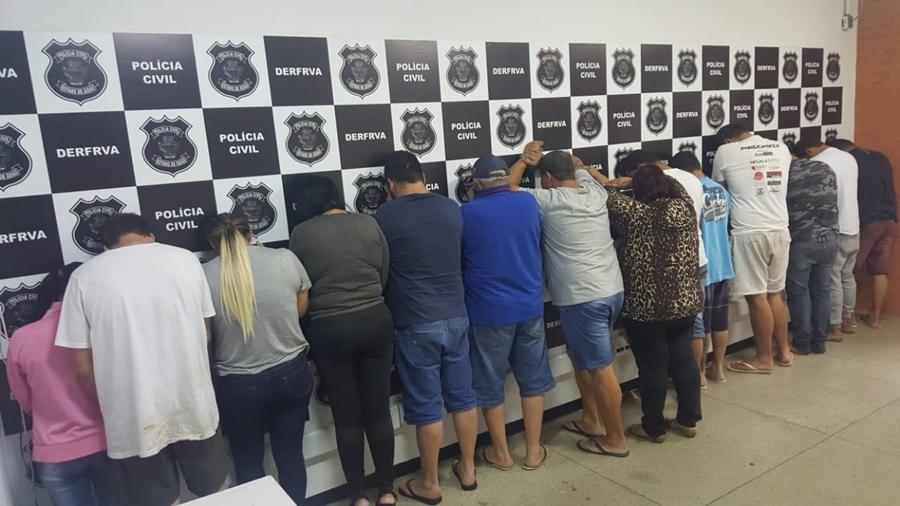 Operação da PC desarticula quadrilha de roubo e desmanche de veículos, em Goiânia
