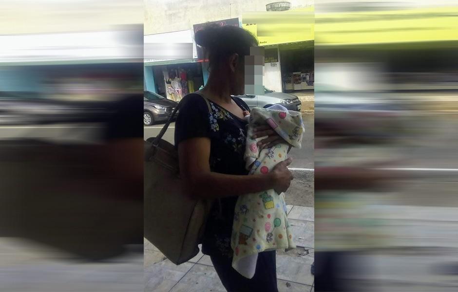 Mulher que abandonou o filho recém-nascido em Aparecida de Goiânia se apresenta à polícia