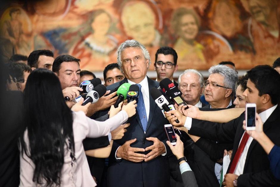 Acordo firmado entre Caiado e empresários prevê alterações no PL que revisa incentivos fiscais