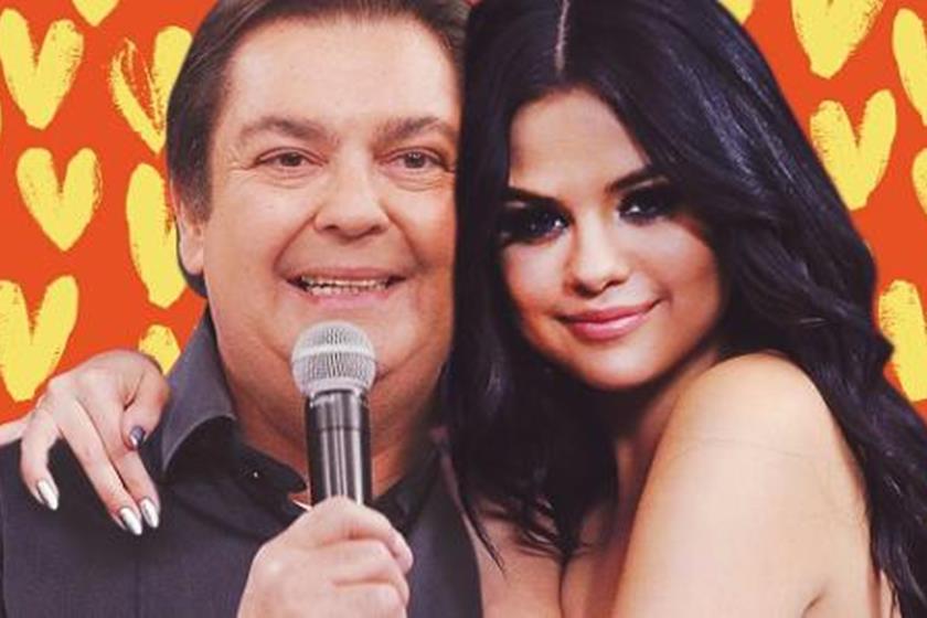 'Namoro' entre Faustão e Selena Gomez acabou, diz filho do apresentador