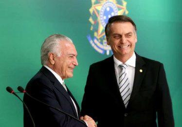 Temer deixa para Bolsonaro R$ 336 bi em investimentos já engatilhados