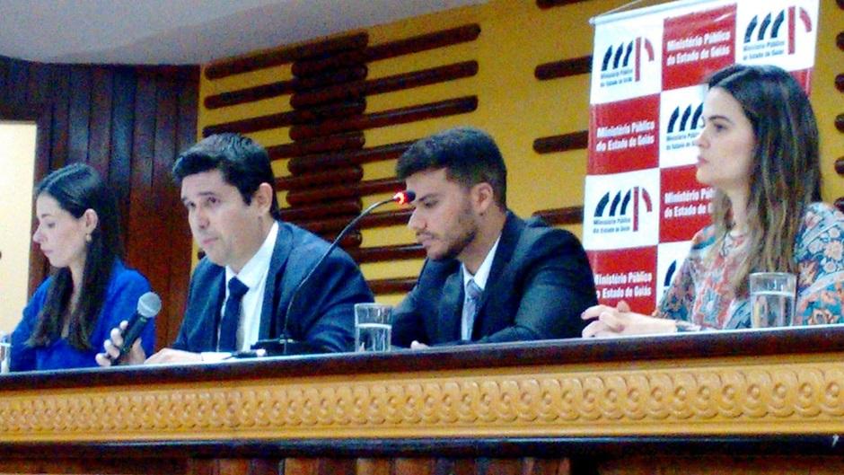 Força-tarefa de promotores do MP-GO que apura crimes praticados por João de Deus (Foto: Mais Goiás)