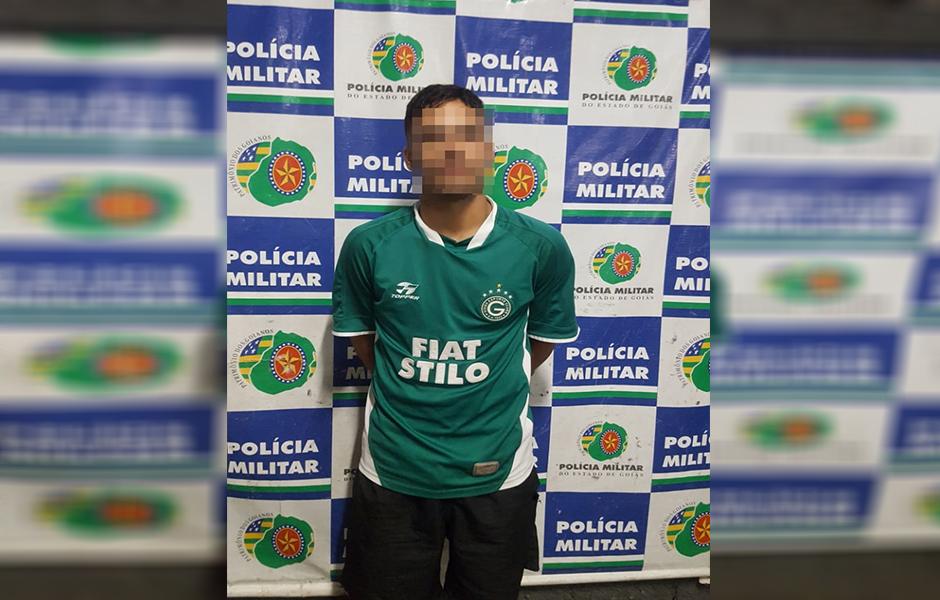 Homem é preso suspeito de furtar tampas de carroceria de veículos, em Goiânia