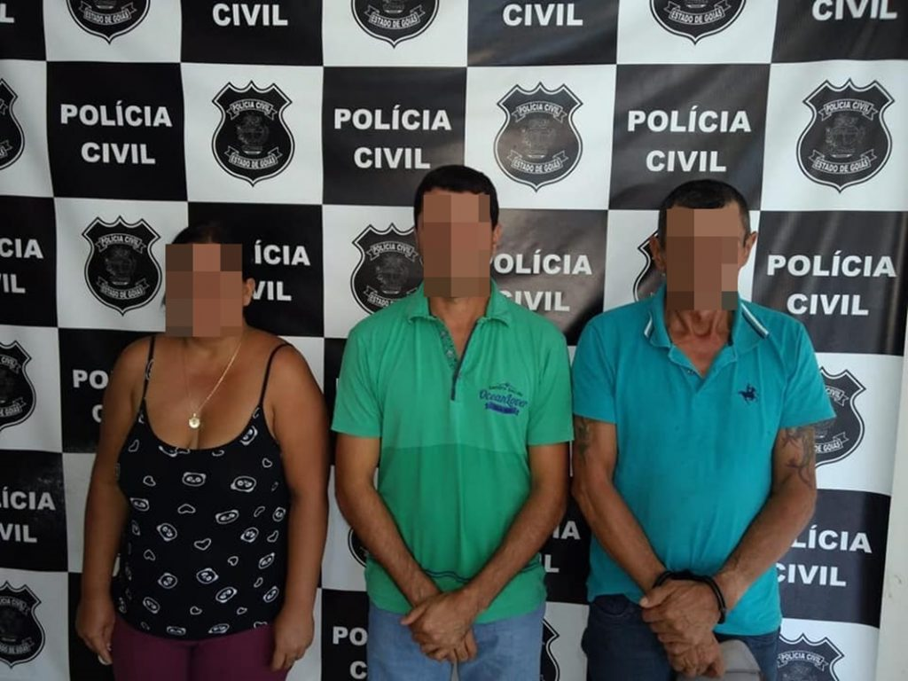 Polícia Civil prende suspeitos de matar homem por dívida de aluguel em Itajá