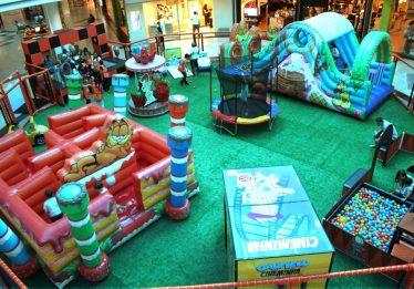 Parque do Garfield chega a shopping em Goiânia