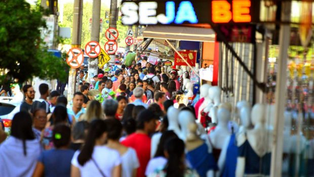 Comércio na rua 44 movimentou R$ 2 bilhões entre outubro e dezembro