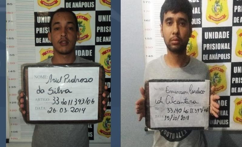 Dois detentos fogem de cadeia em Anápolis