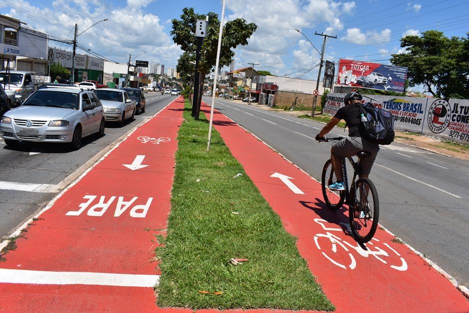Prefeitura de Goiânia inicia revitalização das ciclovias da cidade