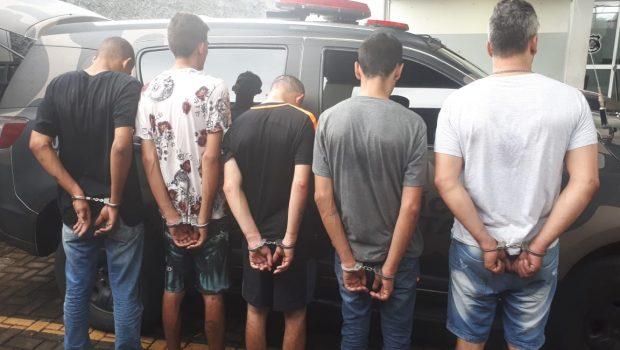 Quadrilha especializada em roubo a bancos é presa em Goiânia
