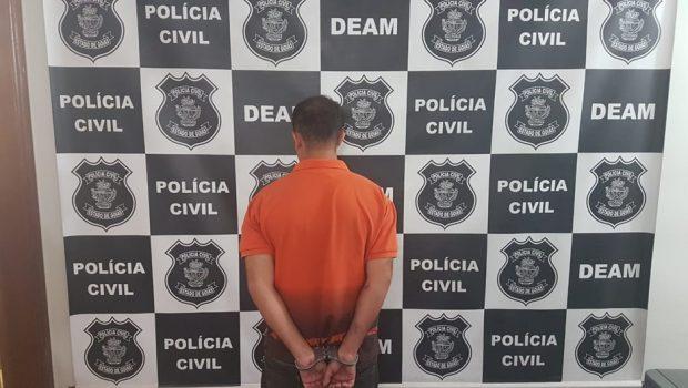 Preso homem que agrediu esposa dentro de elevador em Valparaíso
