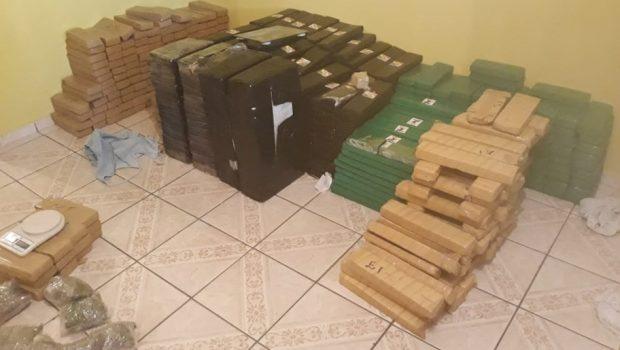 Forças policiais de Goiás apreendem 6,6 toneladas de drogas em janeiro