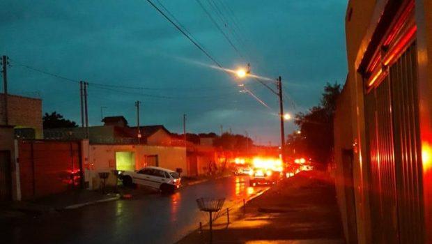 Homem morre após troca de tiros com policiais militares no Residencial Itaipu, em Goiânia