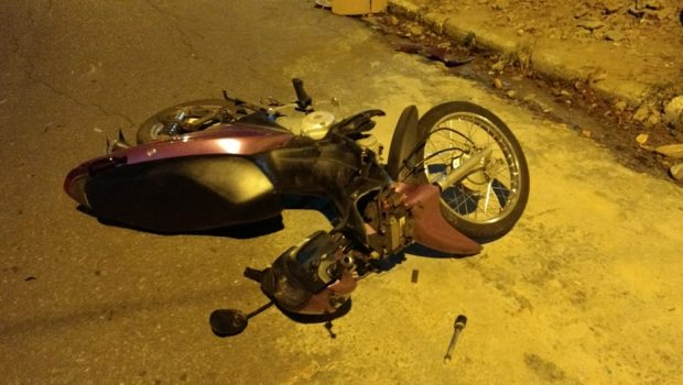 Acidente entre duas motocicletas deixa 4 feridos em Goiânia