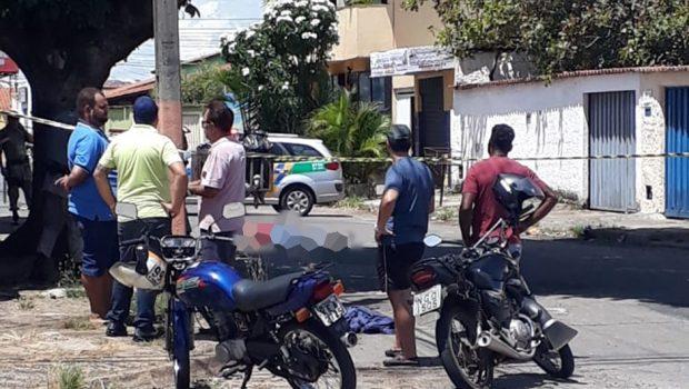 Homem é morto nesta terça (15) na Vila Santa Helena, em Goiânia
