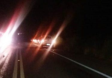 Acidente na BR-153 mata adolescente e deixa três pessoas feridas, em Jaraguá