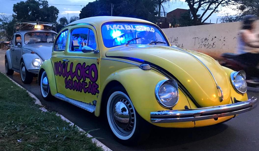 O 'Fusca Baladeiro Rock'n Roll' (Foto: Arquivo Pessoal / Eder Norato)