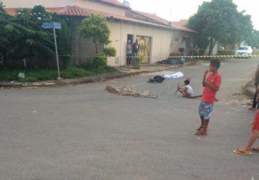 Criança de 9 anos morre após ser atropelada por caminhão em Aparecida de Goiânia