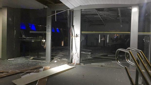 Três homens são presos após explodirem caixa eletrônico em Pires do Rio