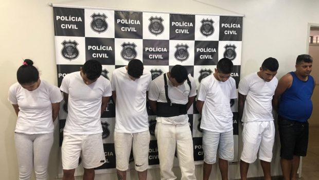 PC prende grupo suspeito de cometer assassinatos, em Buriti Alegre