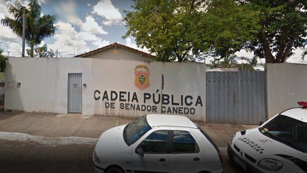 Detento é morto a pauladas na cadeia de Senador Canedo