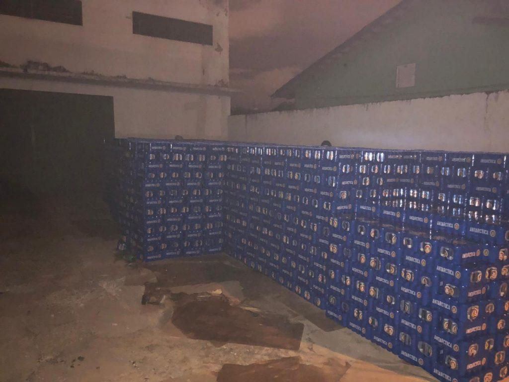 Caminhão carregado com mais de 7 mil caixas de cerveja é recuperado em Acreúna