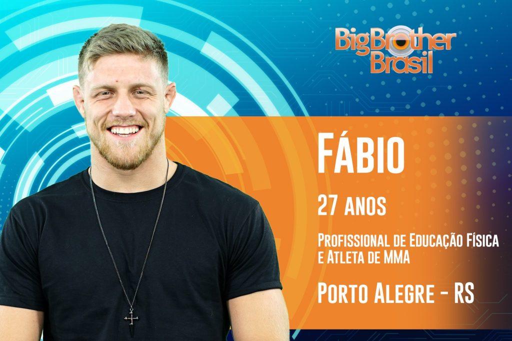Dias antes da estreia, Fábio é desclassificado do BBB 19