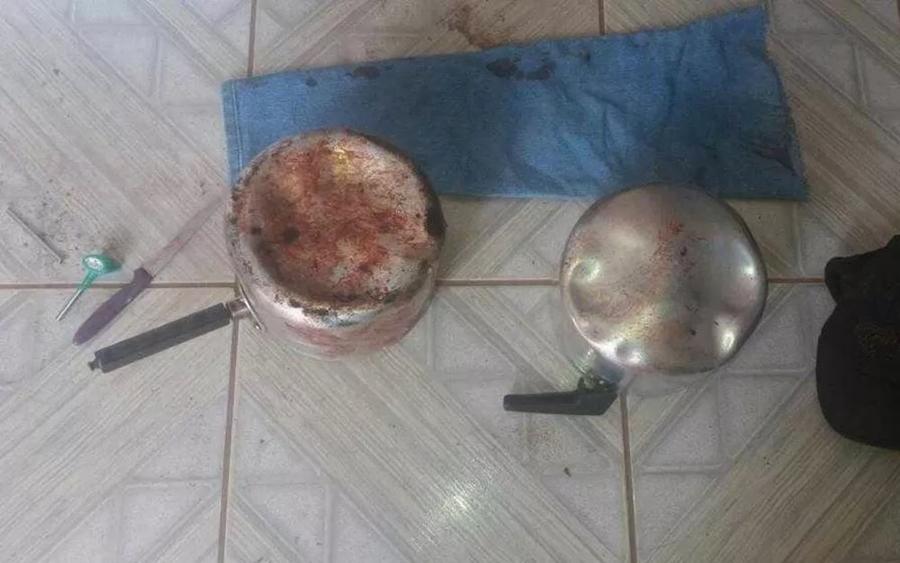 Em Caiapônia, homem que matou mulher usando panelas se apresenta à Polícia