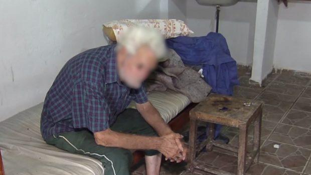 Idoso é resgatado em situação de maus-tratos e abandono em Goiânia