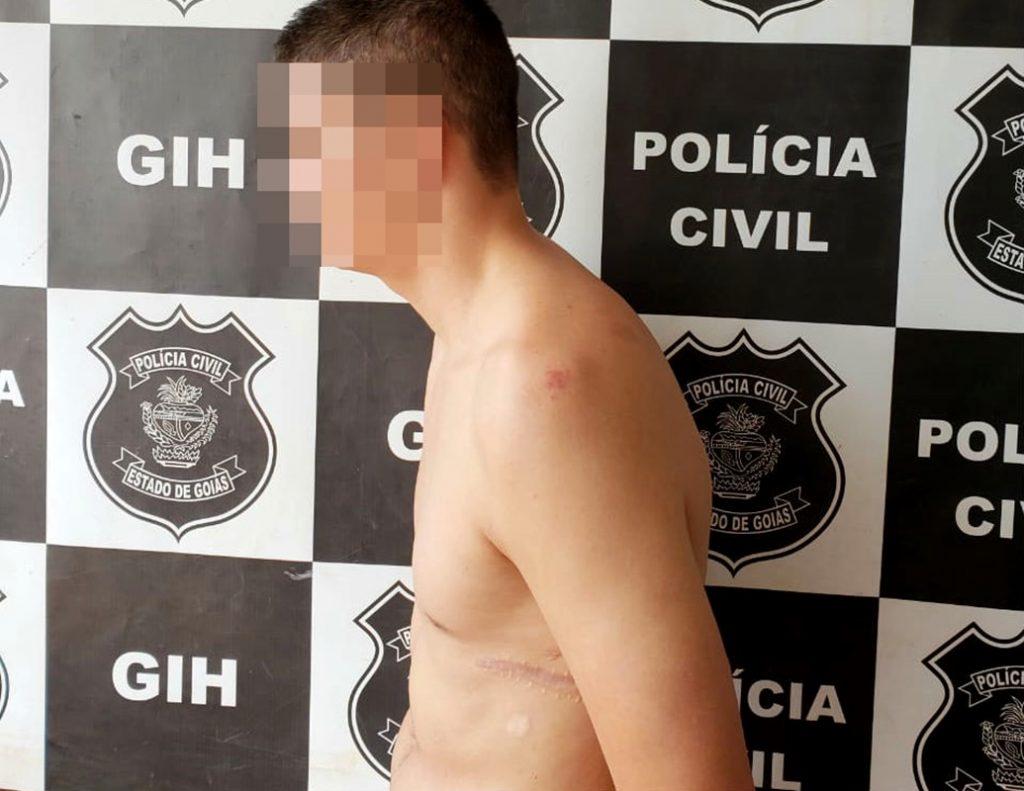 Homem é preso por tentativa de homicídio em Luziânia