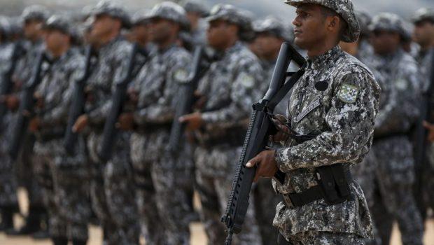 Ataques criminosos recuam no Ceará em primeira noite de atuação da Força Nacional
