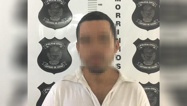Filho é preso em flagrante suspeito de agredir a própria mãe, em Morrinhos