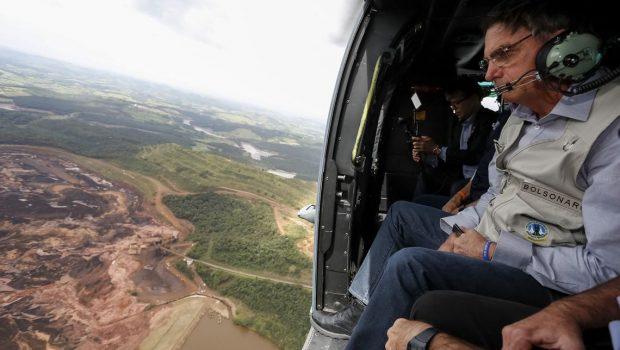 Bolsonaro diz que governo vai oferecer recursos para ajudar MG; Calamidade pública é decretado