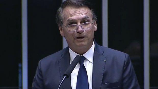 Em discurso, Bolsonaro defende união no País e valorização da família