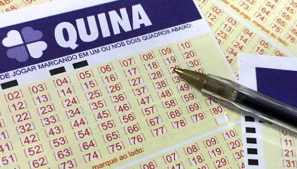 Aposta de Goiânia leva o prêmio de mais de R$ 1 milhão da Quina; Mega-Sena acumula