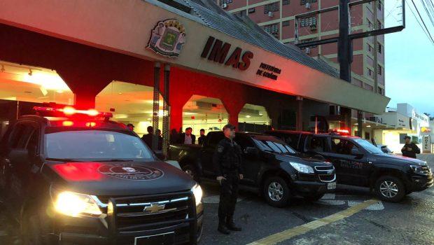 Presidente e médicos do Imas são presos por desvios e falsificações de documentos