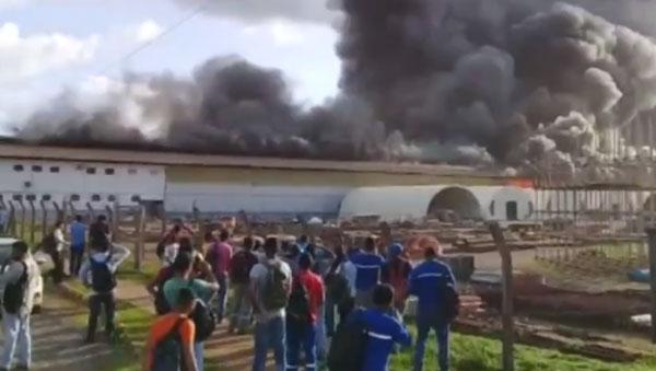 Incêndio atinge galpão na usina de Belo Monte, mas não há vítimas, diz Eletrobras