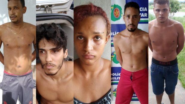 Cinco pessoas são presas suspeitas de participação no incêndio na Secretaria de Obras de Aragarças