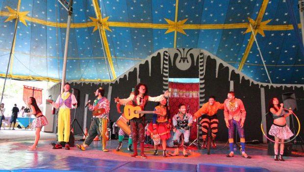 Circo Laheto realiza 'CarnaForró' no Parque da Criança no próximo domingo (3)