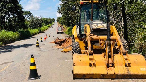 Juiz determina interdição parcial das rodovias GO-060 e GO-173 devido a danos na pista