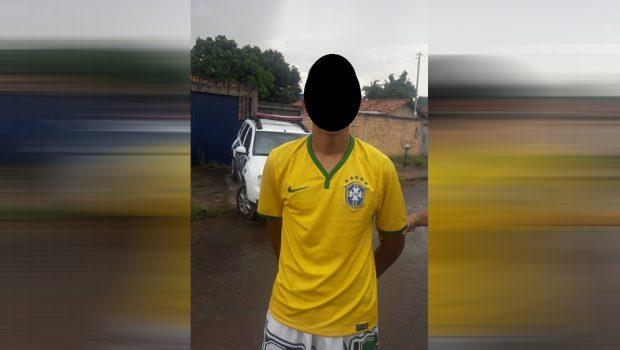 Adolescente é apreendido após atirar contra torcedores do Vila Nova, em Aparecida de Goiânia