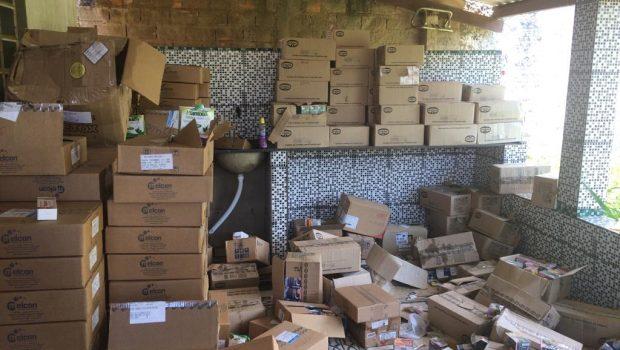 Remédios furtados da Polícia Civil são apreendidos em Aparecida de Goiânia