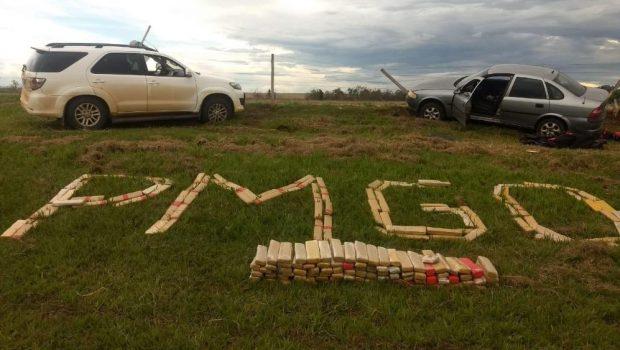 PM apreende mais de 200 kg de maconha, na BR-060, entre Rio Verde e Jataí