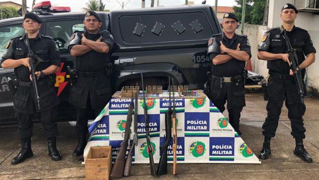 Em Goiás, 42 armas de fogo são apreendidas em 72 horas