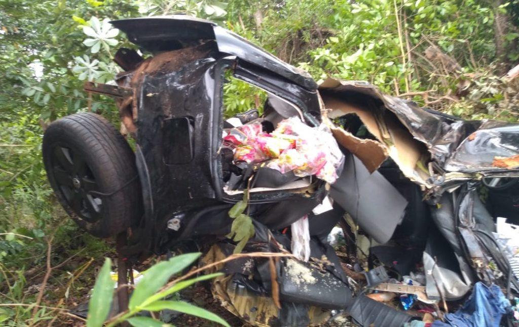 Acidente de trânsito deixa quatro pessoas mortas na GO-164 em Mozarlândia