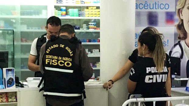 PC deflagra operação contra sonegação fiscal no comércio de medicamentos de alto custo em Goiânia
