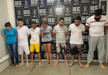 Preso grupo suspeito de comandar tráfico de drogas e execuções na região da Vila Canaã